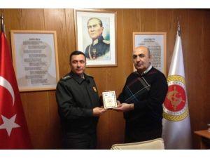 Albay Okuyucu'dan Tesud'a Ziyaret