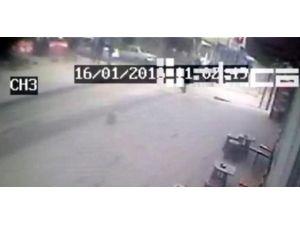 Cinayet Anı Güvenlik Kamerasına Yansıdı