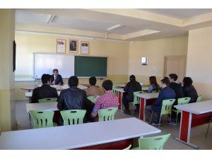 Kocagöz, Okul Meclis Başkanları İle Buluştu