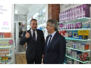 Üsküdar Ve Beyoğlu Belediye Başkanları Eczane Açılışına Katıldı