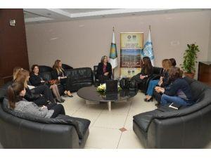 Diyarbakır İş Kadınları Derneği'nden Kışanak'a Ziyaret