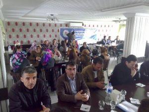 Kahta'da Stajer Öğretmenlerle Kaynaşma Yemeği
