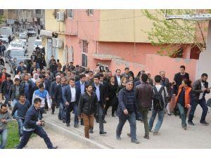 HDP Eş Genel Başkanı Selahattin Demirtaş Cizre'de