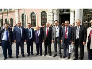 ADÜ Rektörü Bircan, 233. Üniversitelerarası Kurul Toplantısına Katıldı