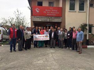 Gönüllü Gençlerden Huzurevine Ziyaret