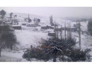 Kar Yağışı, Yüksek Kesimlerde Etkili Oldu