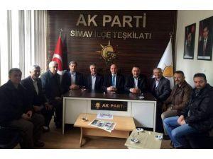 Başkan Ali Çetinbaş Simav İlçesi'ni Ziyaret Etti