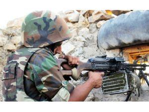 Cephe hattında çatışma: Bir Azerbaycan askeri şehit oldu