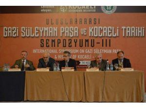Sempozyumda İzmit Paşasuyu Tarihi Ele Alındı
