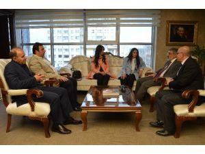 Birkonfed'den Başbakan Başdanışmanı Ve AK Parti Kayseri Milletvekili Taner Yıldız'a Ziyaret