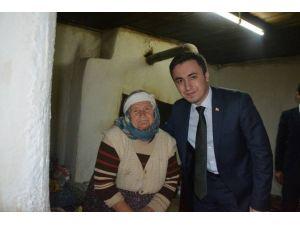 Kaymakamdan Yaşlı Kadına Devlet Şefkati