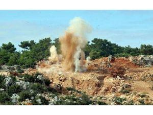 Kaya, Patlatma Çalışmalarını Yerinde İzledi
