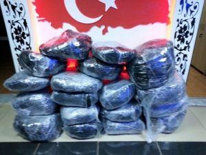 Şanlıurfa'da 117 Kilo Uyuşturucu Madde Ele Geçirildi