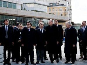 Erdoğan Taksim'de incelemelerde bulundu