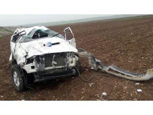 Silvan'da Trafik Kazası: 2 Yaralı