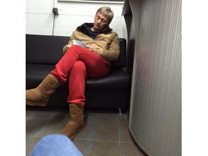 Peskov, gündem olan kırmızı eşofmanı hakkında konuştu