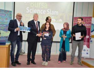 Uludağ Üniversitesi, Bursa Science Slam'e ev sahipliği yaptı
