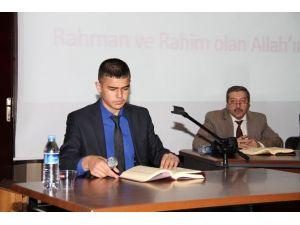 İmam Hatim Liseleri Arası Kuranı Kerim Okuma Yarışması..