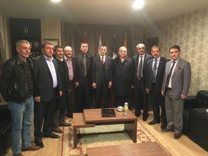 Sendika Başkanlarından AK Parti İl Başkanı Yeşilyurt'a Ziyaret
