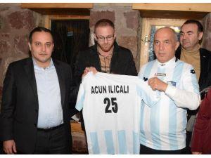 Mustafa Ilıcalı'dan Bb Erzurumspor'a 'Survivor' Destek Sözü