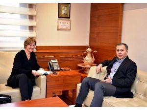 UNICEF Heyetinden Vali Yerlikaya'ya Ziyaret