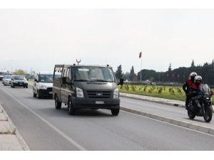 Şehit Üsteğmen Cazgır'ın Cenazesi İzmir'e Getirildi
