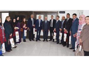 Aday Öğretmenlerden Başkan Şinasi Gülcüoğlu'na Ziyaret