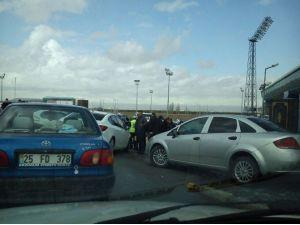 Güvenlik Önlemlerinden Gazeteciler Nasibini Aldı