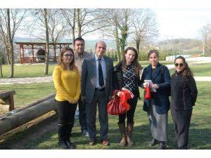 Macera Park'a Ziyaretler Devam Ediyor