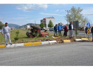 Ortaca'da Trafik Kazası; 1'i Ağır 2 Yaralı
