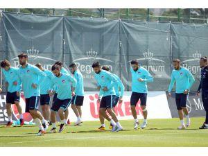 A Milli Futbol Takımı, Antalya'daki hazırlıklarını tamamladı