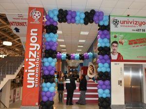 Univizyon Sinemaları OMÜ Yaşam Merkezi'nde açıldı