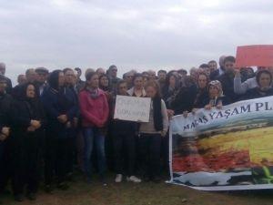 HDP Ve CHP'li Vekiller Çadırkent İnşaat Çalışmalarını Engelledi