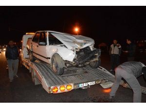 Ortaca'da Trafik Kazası; 2 Yaralı