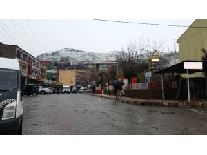 Kulp'ta Kar Yağdı