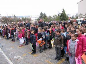 Hisarcık'ta Okullara Giriş Ve Çıkış Saatleri Değişti
