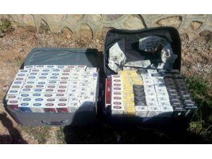 Otobüs Bagajında Bin 390 Paket Kaçak Sigara