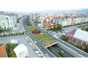 Uşak'ta Stat Kavşağı Proje Çalışmaları Başladı
