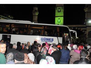 İşadamı Şahin, 102 kişiyi umreye gönderdi