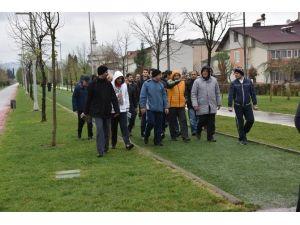 Başkanlar Köseköy'de Spor Yaptı