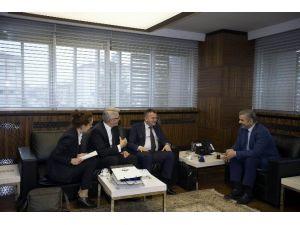 Bosna Hersek Başkonsolosu Began Muhic, Başkan Mustafa Çelik'e Teşekkür Etti
