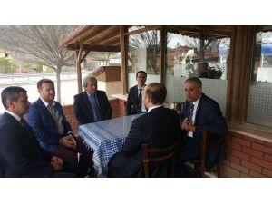Başkan Yaman, Belediye Başkanları İle Bir Araya Geldi