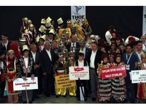 İncesu'da Halk Oyunları Yarışmaları Yapıldı