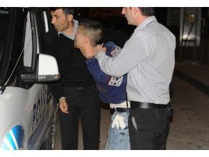 Hırsızlık Şüphelisi Suç Üstü Yakalandı