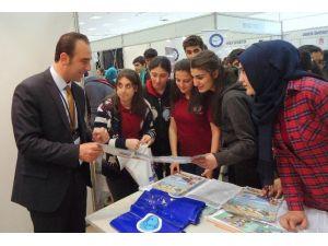 7 Aralık Üniversitesi, Mersin'de Tanıtım Günlerine Katıldı