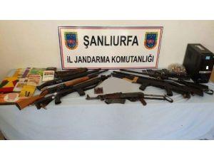 Şanlıurfa'da 13 Adrese Terör Operasyonu