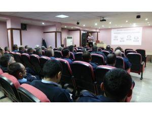 """Aksaray'da 445 Personele """"İş Sağlığı Ve Güvenliği"""" Eğitimi"""