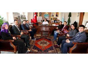 Öğretmenlerden Başkan Yazgı'ya Nezaket Ziyareti