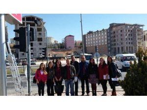 Nevşehir'de İlk Sesli Sinyalizasyon Sistemi Uygulamaya Geçti