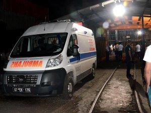 Zonguldak'ta kömür ocağında göçük: 1 yaralı